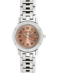 Hermès Hermes Women's Clipper Watch, Circa 2000s - Metallic