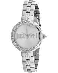 Just Cavalli Animalier Watch - Metallic