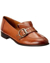 Paul Green Tarin Leather Loafer - Brown