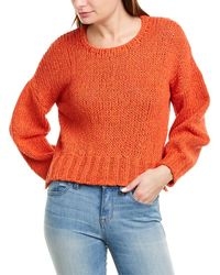 10 Crosby Derek Lam Oversized Sweater - Orange