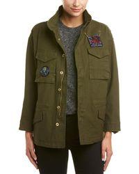 Dance & Marvel Military Jacket - Green