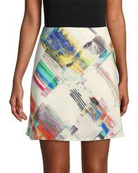 Robert Graham - Rachael Printed Mini Skirt - Lyst