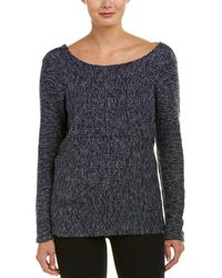 Bobi Crossback Sweater - Blue