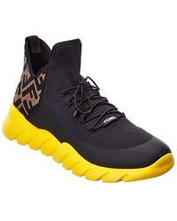 Fendi Ff Sneaker - Black