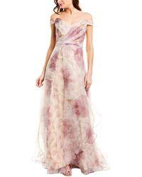 Rene Ruiz Gown - Pink