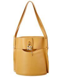 Chloé Aby Medium Leather Bucket Bag - Multicolor
