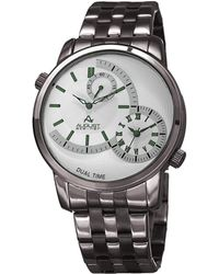 August Steiner Men's Urbane Watch - Metallic