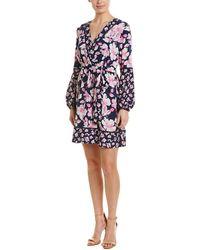 Eliza J A-line Dress - Multicolour