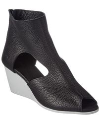Arche - Egoria Leather Wedge Sandal - Lyst