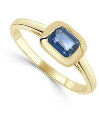 Sabrina Designs 14k 0.65 Ct. Tw. Sapphire Ring - Metallic