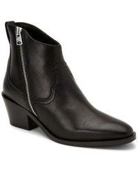 AllSaints Allsaints Carlotta Leather Boot - Black