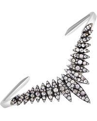 Alexis Bittar Silver Sapphire Bracelet - Metallic