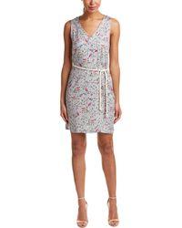 G.H.BASS - Sleeveless Floral Shift Dress - Lyst