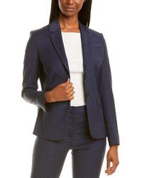 Brooks Brothers Wool-blend Blazer - Blue