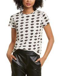Pam & Gela Crewneck T-shirt - White