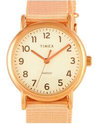 Timex Watch - Metallic