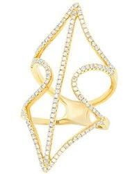 Diana M. Jewels - . Fine Jewelry 18k 0.70 Ct. Tw. Diamond Ring - Lyst