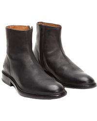 Frye - Men's Chris Inside Zip Leather Boot - Lyst