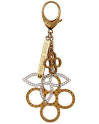 Louis Vuitton - Gold & Silver-tone Bijoux Sac Tapage Bag Charm - Lyst