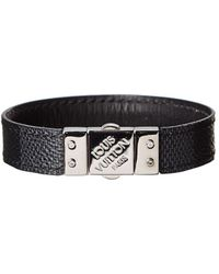 Louis Vuitton Damier Graphite Canvas Check It Bracelet - Black