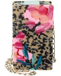 Edie Parker Hardbody Minnie Clutch - Multicolour