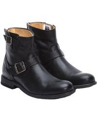 Frye Men's Tyler Leather Engineer Boot - Black