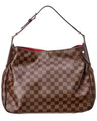 Louis Vuitton Damier Ebene Canvas Reggia - Brown