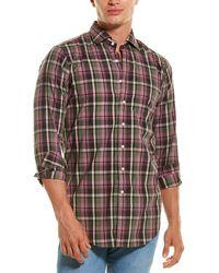 Sid Mashburn Slim Fit Sport Shirt - Pink