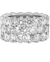 Diana M. Jewels . Fine Jewellery 18k 3.52 Ct. Tw. Diamond Ring - Metallic