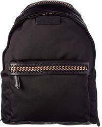 Stella McCartney Falabella Go Backpack - Black