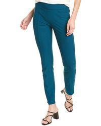 Eileen Fisher Stretch Slim Pant - Blue