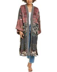 Johnny Was Korie Reversible Silk Kimono - Multicolour