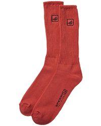 Sperry Top-Sider 2pk Crew Socks - Orange