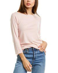 Three Dots Ez Fit British T-shirt - Pink