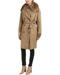 Moncler Coat - Brown