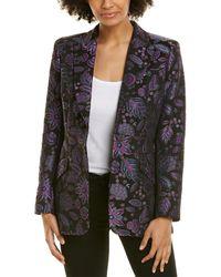 Elie Tahari Madison Jacket - Purple
