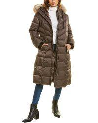 Nine West Puffer Coat - Grey
