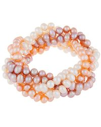 Splendid 6-7mm Freshwater Pearl Bracelet - Pink