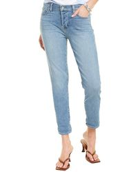 7 For All Mankind 7 For All Mankind Josefina Lakeside Straight Jean - Blue