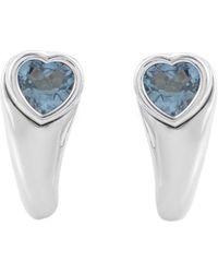 Piaget 18k 2.00 Ct. Tw. Topaz Earrings - Blue