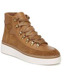 Vince Soren Leather Bootie - Brown
