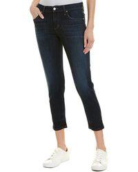 Joe's Jeans Ellette Boyfriend Slim Crop - Blue
