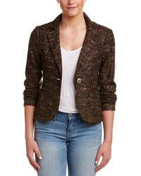 Nanette Lepore - Mystery Train Wool-blend Jacket - Lyst