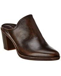 The Flexx The Rock Me Leather Mule - Brown