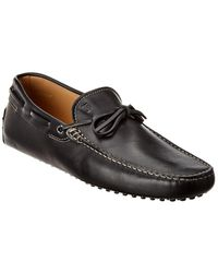 Tod's Gommino Leather Loafer - Black