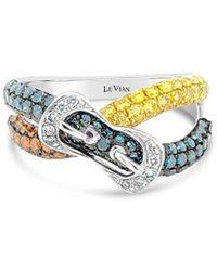 Le Vian 14k Vanilla Gold 1.33 Ct. Tw. Diamond Ring - Metallic