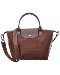 Longchamp - Le Pliage Neo Small Canvas Top Handle Tote - Lyst