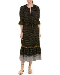 MISA Los Angles Caeli Maxi Dress - Black