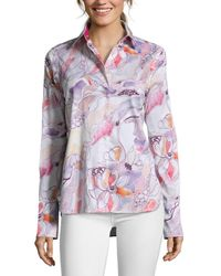 Robert Graham Priscilla Romantic Shirt - White