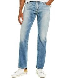 AG Jeans Everett 21 Years Be Young Slim Straight Leg - Blue